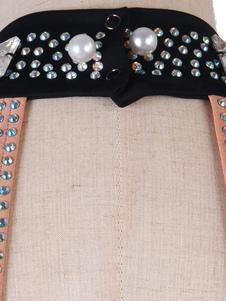 Латинские танцы платья горный хрусталь из бисера жемчуг спинки латинский танцор танцевальный костюм