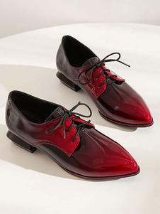 Zapatos casuales con cordones y punta estrecha Ofor de Academic para mujer