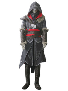 Inspirado por Assassins? Creed Revelations Desmond Miles Halloween Cosplay Costume Halloween
