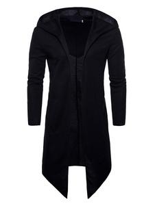 Cappotto a maniche lunghe a maniche lunghe con design irregolare