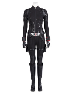 Carnaval Marvel Film Cosplay Avengers 4 Endgame Black Widow Natasha Romanoff Disfraz de Cosplay Halloween