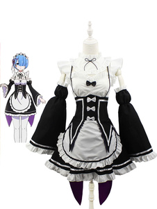 Re Zero Starting Life In Another World Rem Ram Cosplay Costume Maid Cosplay Costume Halloween