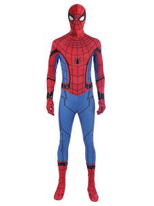 Carnevale Marvel Comics Costume Cosplay Film set lycra spandex accessori&Cappuccio&tuta
