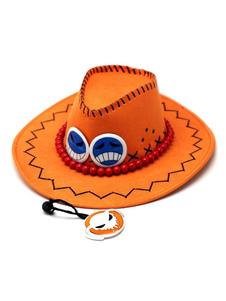 Carnaval One Piece Ace Halloween Cosplay Sombrero Portgas D Ace Halloween