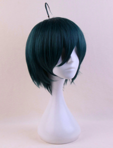 Danganronpa V3 Killing Harmony Shuichi Saihara Cosplay Wig Хэллоуин