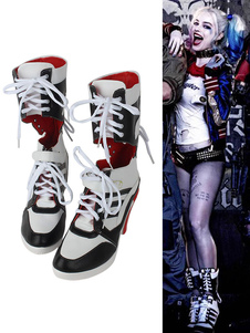 Batman Suicide Squad Harley Quinn Halloween 2017 Film Cosplay Shoes