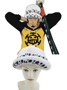One Piece Трафальгарской · Закон Cosplay Hat плюша Хэллоуин