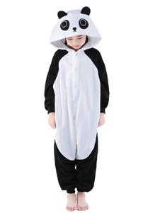 Комбинезон Черный синтетических панда талисман костюм  Хэллоуин