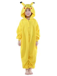 Fantasia de mascote de macacão de Natal amarelo  Halloween