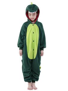Disfraz Carnaval Traje de la mascota de dinosaurio sintético mono Halloween Carnaval