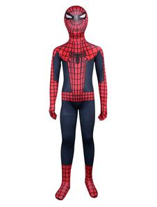 Хэллоуин унисекс мульти цвет лайкра Spiderman дети тела Зентаи костюмы Хэллоуин