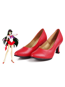 Carnevale Sailor Moon Sailor Mars Raye Hino Scarpe Cosplay 2020
