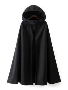 Abrigos Mujer Con Capucha Chaquetas De Poncho