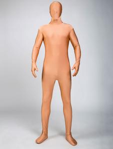 全身タイツ ヌードカラー ユニセックス 大人用 ボディスーツ ライクラ・スパンデックス ジャンプスーツ フルボディ  ハロウィン