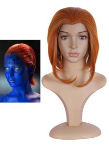 X-Men Mystique Raven Darkholme Peruca Cosplay Halloween