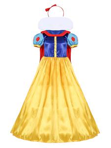 Fairytale Costume Halloween Sexy Veler Ball Платья и оголовье для женщин