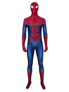 Carnaval El traje de hombre araña asombroso cosplay cosplay
