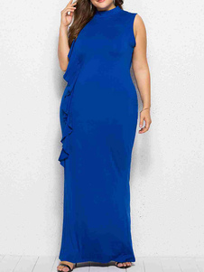 Abiti lunghi da donna Plus Size per donne grasse Nuovo design Inverno Street Wear Abbigliamento da donna Occasioni Abiti lunghi