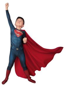 Супермен Человек из стали Косплей Кларк Супермен Роял Блю Лайкра Спандекс Костюмы Zentai DC Comics Косплей Костюм