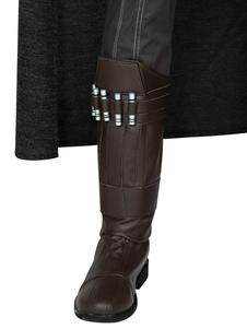 Star Wars Cosplay O Mandaloriano Linho Sapatos de Cosplay Couro PU Sapatos de Cosplay