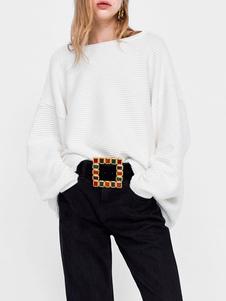 Cinturón de cuero negro tipo cinturón Cinturón con joyas