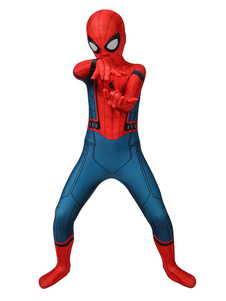 Marvel Comics Spider Man homecoming Kid Cosplay Costume Lycra Spandex Jumpsuit