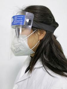 Меры предосторожности Воздушно-карантинный защитный щиток для лица Прозрачная линза с защитой от капель и откидным козырьком
