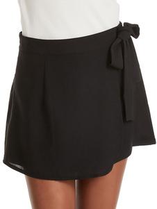 Pantalones cortos de mujer Casual con cordones Poliéster Pantalones cortos de moda Pantalones cortos de verano