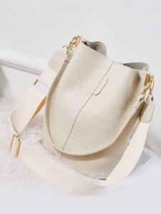 Ковш сумка Mobilephone сумка Крокодил PU девушки сумки