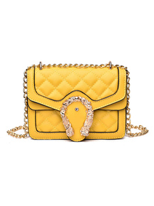 Женская стеганая сумка через плечо