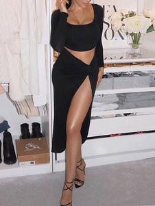 Clubwear Conjunto para mujer 2 piezas