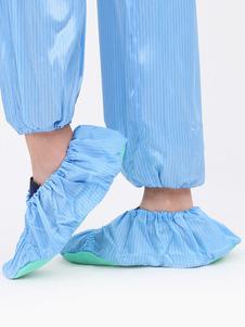 Синие бахилы Многоразовые бахилы и водонепроницаемые ботинки