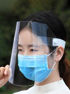 Proteção Epidemia protetor facial de segurança Transparente Anti Saliva Nevoeiro Unisex Anti-fog respirável leve Antiviral Anti Poeira Poluição do Ar