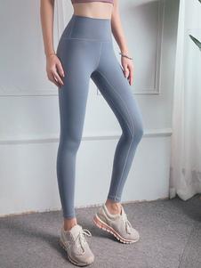 Леггинсы для тренировки брюк с высокой талией