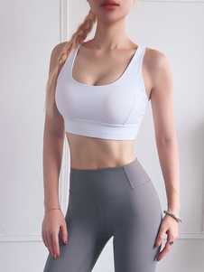Sutiã esportivo Push Up Bra Padded Yoga Workout Clothing