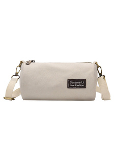 Canvas Crossbody Bag Micro Bag Bolsas de ombro