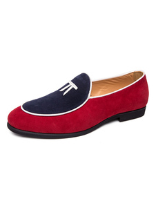 Мужские модные туфли из замши Loafer