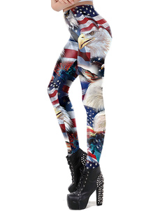 Leggings The Stars And The Stripes 4 Of Independence Day Bottom Women