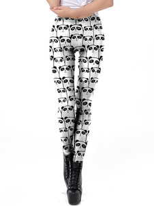 Leggings elastici Leggings da donna con stampa 3D Panda