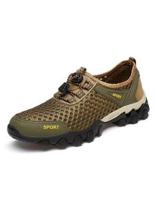 Tênis para homens Cozy Mesh Round Toe Mens Shoes