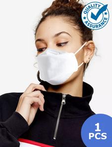 Máscara Facial KF94 Laço de Orelha Elástica Anti Poluição Grau Militar Anti Poeira Máscara Facial Boca