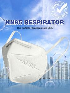 Máscara facial Máscara protetora descartável de proteção contra poeira KN95 Máscara de segurança Filtro de ar de 5 camadas