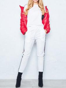 Conjunto de ropa deportiva para mujer Sudadera negra de manga larga con pantalones
