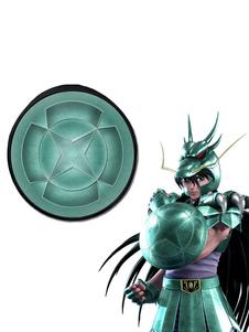 Saint Seiya Бронза Saint Shiryu Dragon Shield Сумки Аниме Косплей Рюкзак