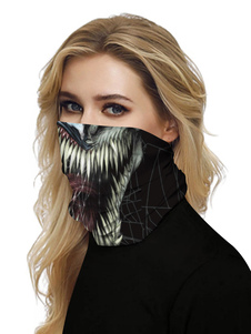 Маска для лица ветрозащитный шарф солнцезащитный крем яд дышащий бандана