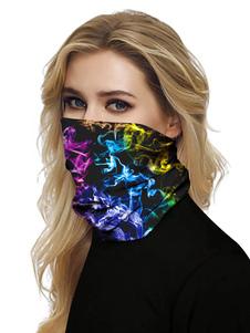 Маска для лица ветрозащитный шарф солнцезащитный крем 3D принт дышащий бандана