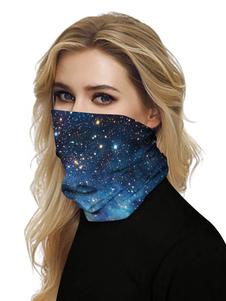 Маска для лица рот крышка банданы бесшовные вселенная 3D принт трубка головные уборы