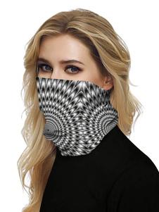 Лицо Бандана Бесшовные маска для лица Mouth Cover 3D Print Tube Головные уборы