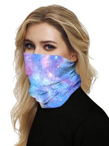 Маска для лица Рот Обложка банданы Вселенная печати Бесшовные крышки маски