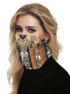 Бесшовные Маска для лица Рот Обложка банданы печати пробки крышки маски Sun Dust Bandanas